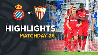 Highlights RCD Espanyol vs Sevilla FC (0-1)