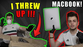 REAL DARK-WEB MYSTERY BOX (GONE WRONG) Apple MacBook