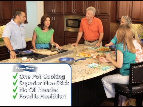 FlavorStone Cookware Infomercial 2013 Produced By Surging Media Group