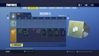 Fortnite Season 6 battle pass!!! They added back the (og music)