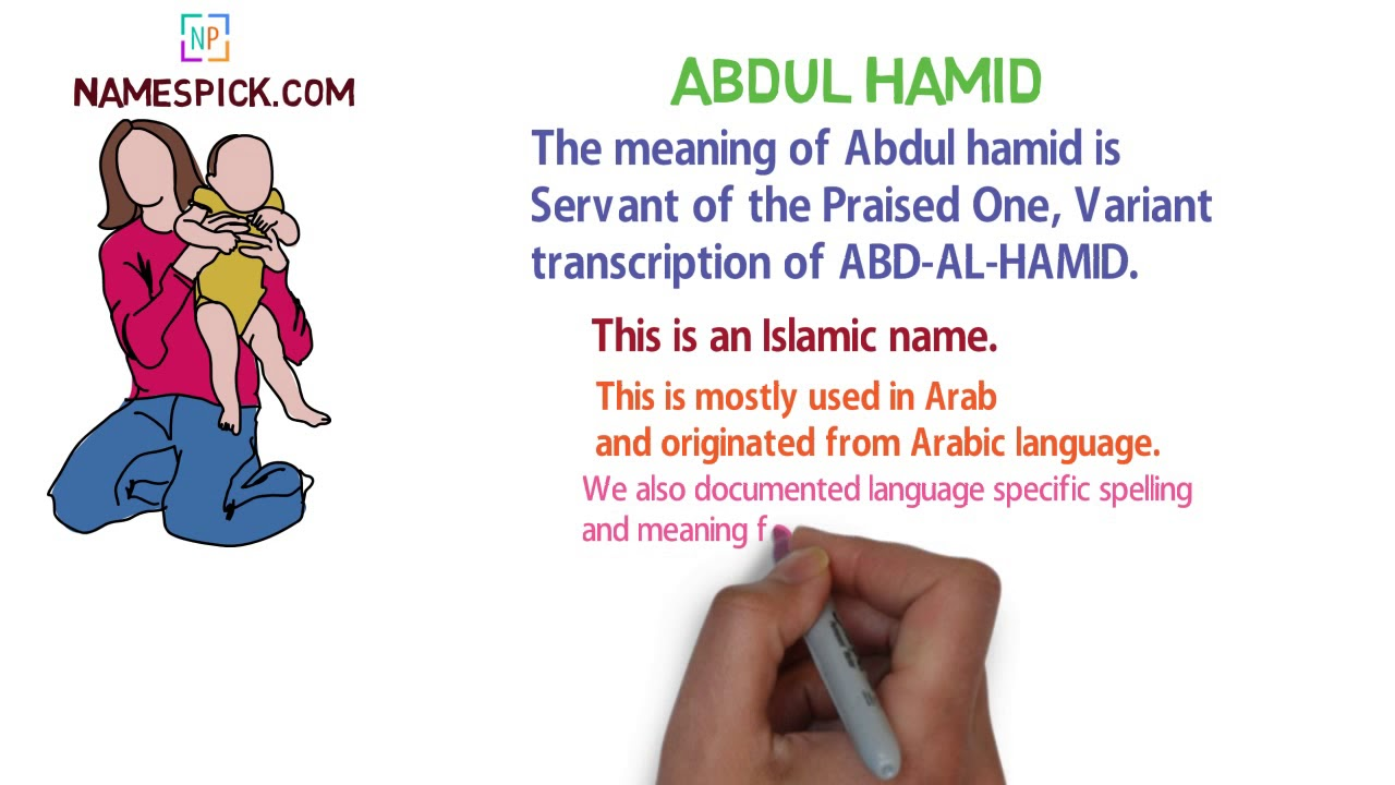 The Meaning Of Abdul Hamid