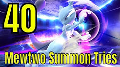 Trainer Index: 40 MewTwo Summon Tries