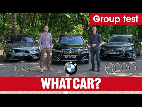 2020 BMW 7 Series Vs Audi A8 Vs Mercedes S-Class Review – Ultimate Luxury Limos Tested | What Car?