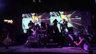 maleficia en el festival de bateristas de nicaragua