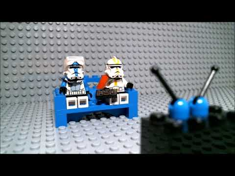 Commander Cody plays Lego Star Wars: The Complete Saga