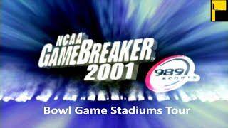 NCAA Gamebreaker 2001 Bowl Game Stadiums