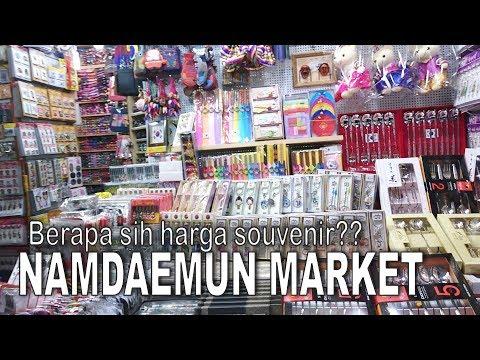 Belanja Oleh-oleh Murah di Korea   What To Shop at Namdaemun Market   Mp3