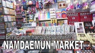 Belanja Oleh-oleh Murah di Korea | What To Shop at Namdaemun Market |