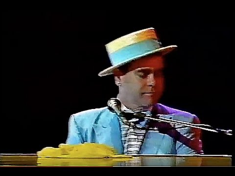 Elton John - I'm Still Standing (Live in Sydney, Australia 1984) HD