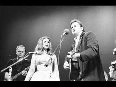 The Pine Tree Johnny Cash And June Carter Youtube