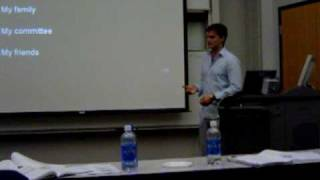 Dissertation proposal defense questions