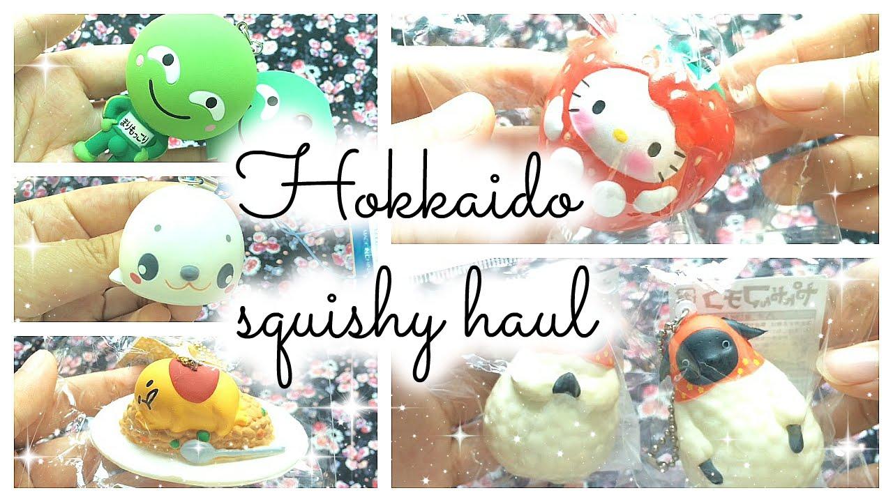 My Squishy Haul : ?? ? ) Hokkaido squishy haul ? - YouTube