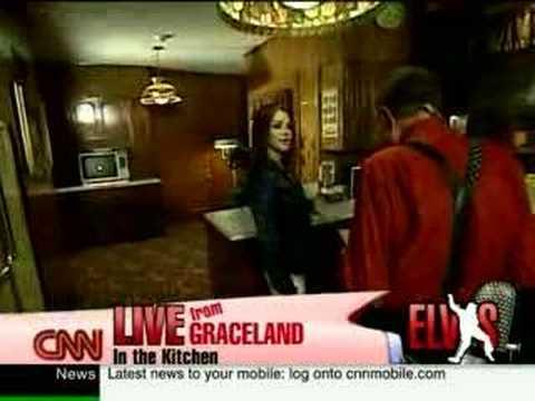 Elvis Presley's Graceland on Larry King Live (Part...