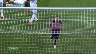 видео: Супер футбол от Барсы и Реала!!! 23.03.2014