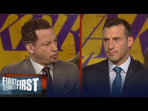 Broussard and Gottlieb on what choosing Lakers can do for LeBron's legacy | NBA | FIRST THINGS FIRST