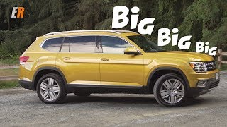 2018 Volkswagen Atlas Review - Bigger than my Highlander