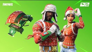 Fortnite Battle Royale -Time For The Christmas Skins - #fortnite #HSB #playground