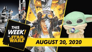 The Child Gets Even Cuter, Luke and Darth Vader Duel in LEGO, and More!