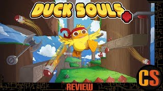 DUCK SOULS+ - PS4 REVIEW (Video Game Video Review)