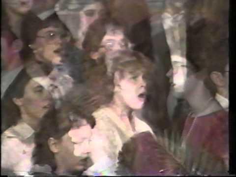 Calvary Baptist Christian Academy Choir - Meadville, PA (Christmas 1984)