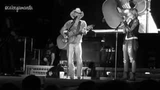 "Kenny Chesney & Miranda Lambert - ""You And Tequila"" and ""Carried Away"""