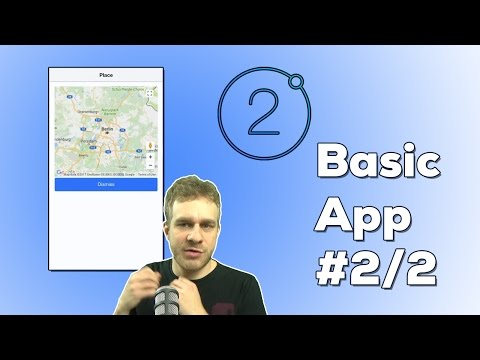 IONIC 2 FULL APP (2/2) - GEOLOCATION & MAPS | Ionic 2 + Angular to build a full Mobile Application