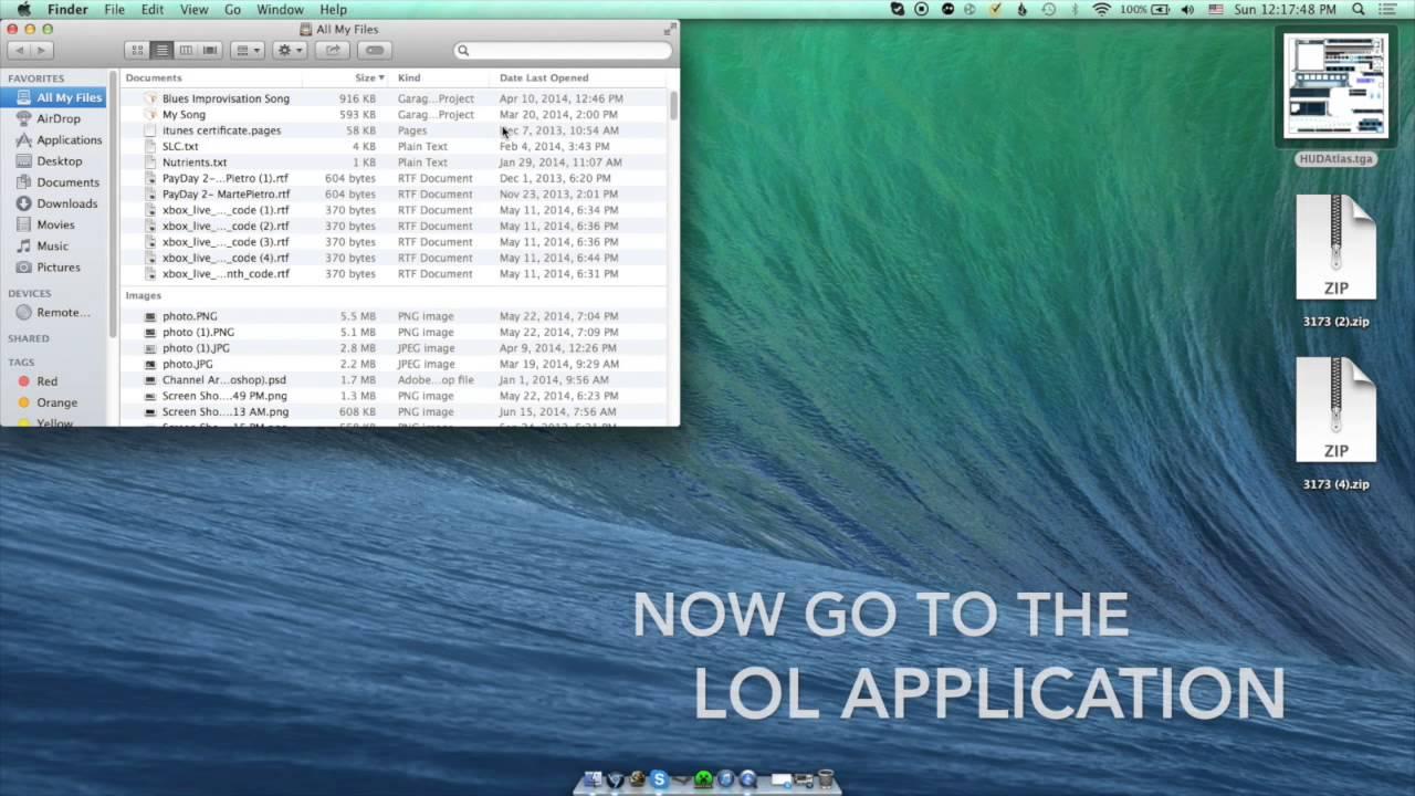 how to change lol hud on mac