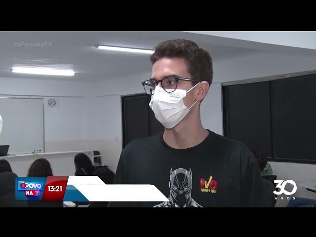 Colégio promove aulão beneficente para o ENEM -  O Povo na TV