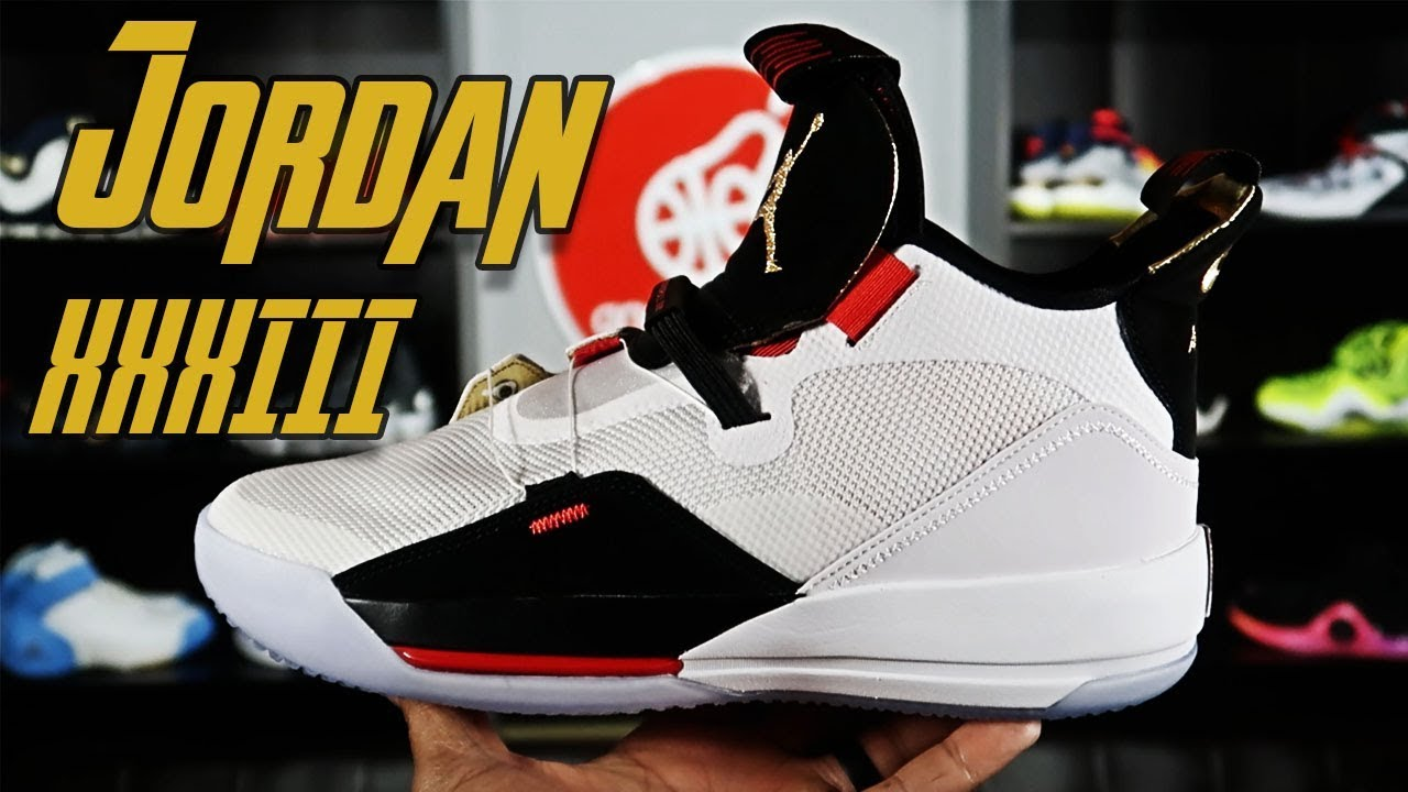 67044af1ffb096 Air Jordan XXXIII (33) Detailed look and Initial Thoughts