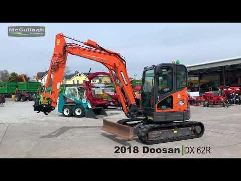 2018 Doosan DX62R