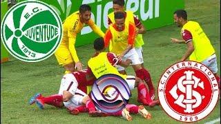 Gols - Juventude 1 x 2 Inter - Gauchão 2019