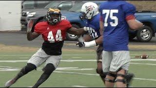 AL-MS Game: OL vs. DL - Alabama