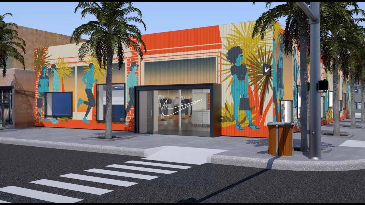 longitud Tahití fragancia  Nike Live Shows Physical Retail Is Far From Dead