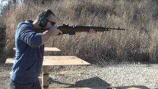 Shooting the Springfield M1A