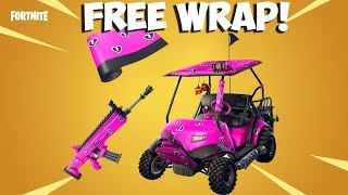 How To Get New Cuddle Hearts Wrap Free In Fortnite! Free Cuddle Hearts Wrap!