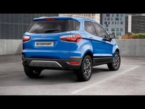 2018 Ford EcoSport New Dimension of Style