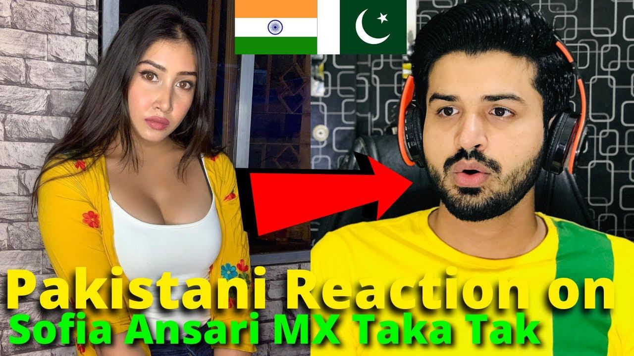 Download Pakistani React on Indian   Sofia Ansari Latest MX TakaTak VIDEOS 2021   Reaction Vlogger