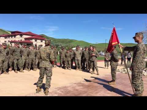 Meritorious promotion of Tiesha Harrison USMC Camp Pendleton California truck