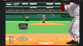 World Series Baseball (Video Game) 1995 Pirates vs Reds