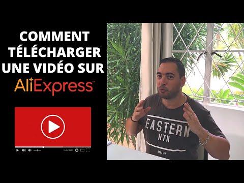 Comment télécharger une vidéo sur Aliexpress