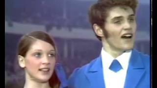 Sandra Bezic & Val Bezic - 1971 World Figure Skating Championships LP