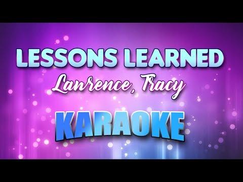 Lawrence, Tracy - Lessons Learned (Karaoke & Lyrics)