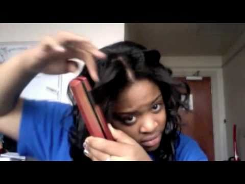 Activating my curls- Bobbi Boss Indi Remy Ocean Wave - YouTube