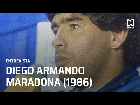 Entrevista a Diego Armando Maradona (1986)