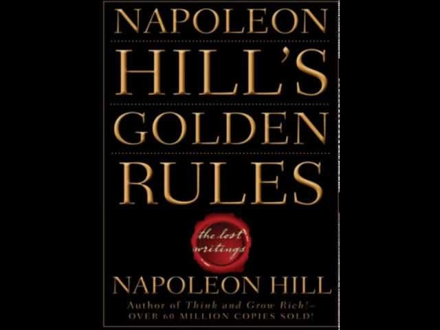 NAPOLEON HILL-10 GOLDEN RULES-Video 9- Personal Initiative HD