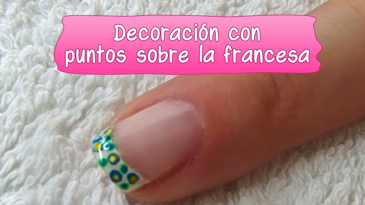 Decoración con puntos sobre la francesa - N°2 - YouTube