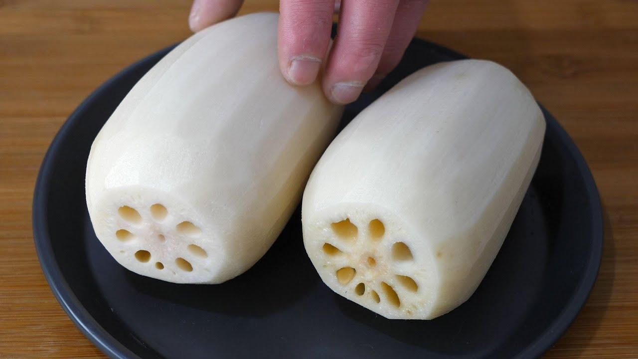 莲藕以后就这样吃,加一碗花生米,不炒不油炸,上桌瞬间被扫光Lotus Root Recipe