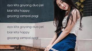 GOYANG 2 DUA JARI LIRIK LYRIC - SANDRINA (ENGLISH SUBTITLES)