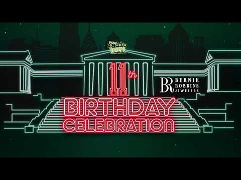Radio 104.5 Birthday Celebration Night One - We're celebrating our 11th Birthday with some friends!