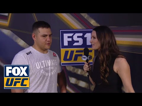 Tai Tuivasa post-fight interview | UFC FIGHT NIGHT